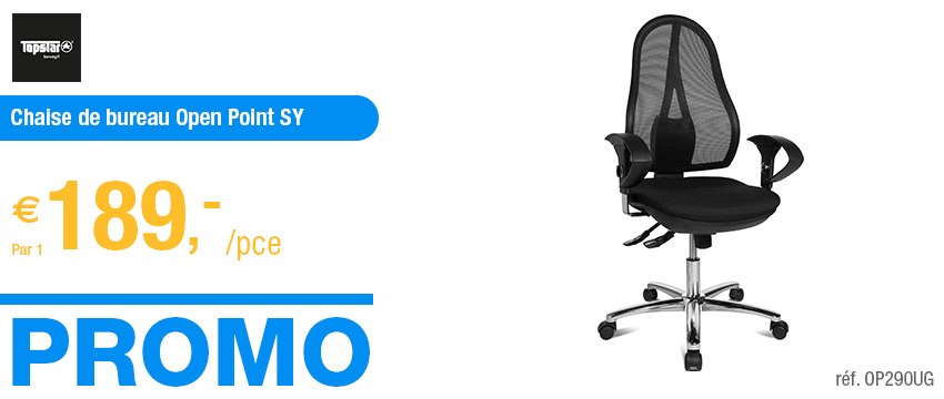 Topstar Chaise de bureau Open Point SY Deluxe
