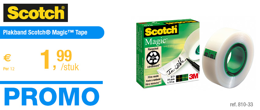 Scotch Plakband Scotch® Magic™ Tape