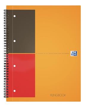 Oxford INTERNATIONAL filingbook, 200 pages,ft A4+, quadrillé 5 mm