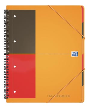 Oxford INTERNATIONAL organiserbook, 160 pages, ft A4+, ligné