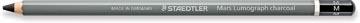 Staedtler crayon de fusain Mars Lumograph, moyen