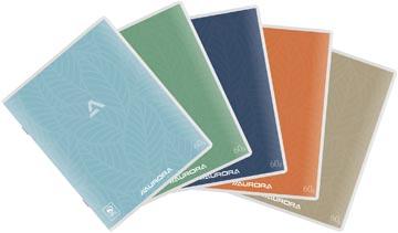 Aurora Writing 60 cahier de brouillon 200 pages, ligné