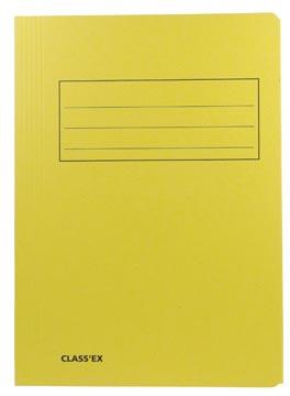 Class'ex chemise de classement, jaune, ft 23,7 x 34,7 cm (pour ft folio)