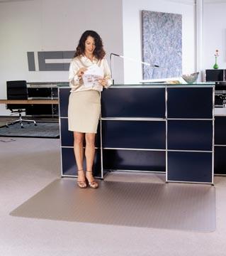 Floortex tapis de sol Cleartex Advantagemat, pour moquette, rectangulaire, ft 120 x 150 cm