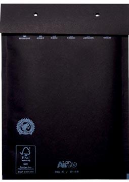 Enveloppe à bulles d'air 180 x 265 mm, boite de 100 pièces, noir
