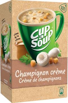 Cup-a-Soup champignons crème avec croûtons, paquet de 21 sachets