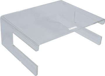 Desq support pour écran en acrylique, avec support clavier
