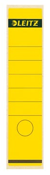 Leitz étiquettes de dos ft 6,1 x 28,5 cm, jaune