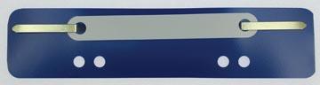 Fixe-dossiers, bleu, boîte de 100 pièces