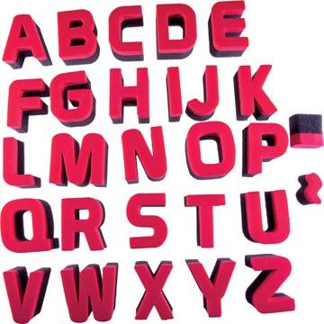 Bouhon éponges à lettres
