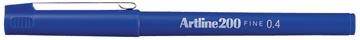 Artline feutre 200, bleu