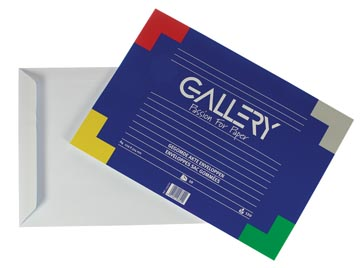Gallery enveloppes, Ft 229 x 324 mm, paquet de 10 pièces