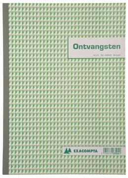 Exacompta, recettes caisse, ft 29,7 x 21 cm, néerlandais, (50 x 2 feuilles) dupli