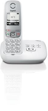 Gigaset A415 téléphone DECT sans fil avec répondeur intégré, blanc