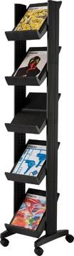 Paperflow Présentoir mobile Corner Compact noir
