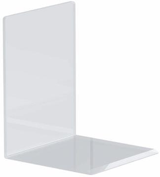 Maul serre-livres ft 10 x 10 x 13 cm, transparent