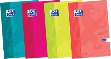 Oxford Touch cahier ft A4, 36 feuilles, ligné, couleurs assorties