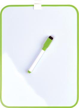 Desq Tableau blanc magnétique, ft 21,5 x 28 cm, vert