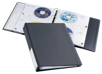 Durable classeur CD/DVD pour 40 CD's