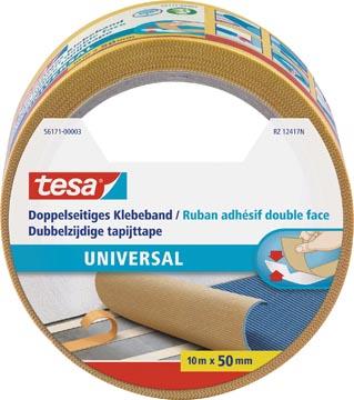 Tesa ruban adhésifv pour tapis, double face, ft 50 mm x 10 m