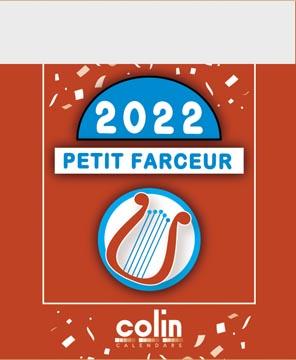 Bloc éphéméride Petit Farceur 2022
