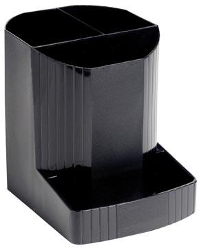 Exacompta Pot à crayons Mini-Octo Ecoblack