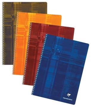 Clairefontaine cahier, ft A4, 100 pages, quadrillé commercial, sans marge