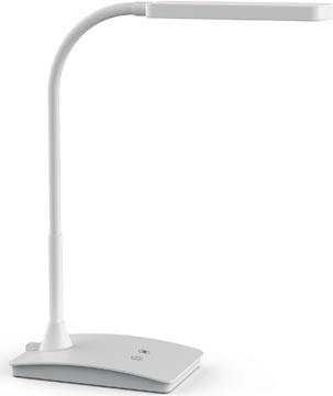 Maul lampe bureau Maulpearly, LED, blanc