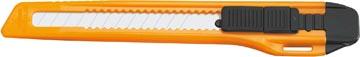 Office cutter, 9mm, noir/orange