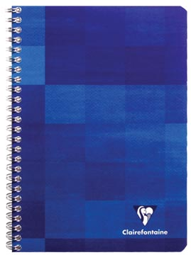Clairefontaine cahier, ft 16,5 x 21 cm, 120 pages, ligné, avec marge