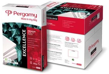 Pergamy papier d'impression Excellence, ft A4, 80 g, paquet de 500 feuilles