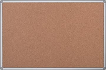 Pergamy tableau en liège avec cadre en aluminium, ft 60 x 90 cm