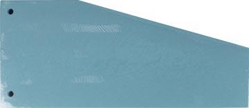 Pergamy intercalaires trapézoïdaux, paquet de 100 pièces, bleu