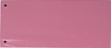 Pergamy intercalaires, paquet de 100 pièces, rose