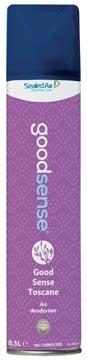 Good Sense désodorisant Toscane, flacon de 500 ml