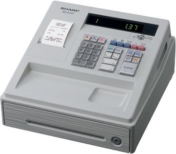 Sharp caisse enregistreuse thermique XE-A137WH, blanc