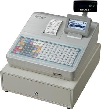Sharp caisse enregistreuse thermique XE-A217W, blanc