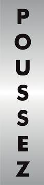 Stewart Superior signe auto-adhésif poussez