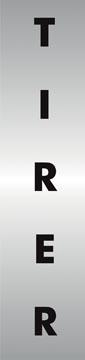 Stewart Superior signe auto-adhésif tirer