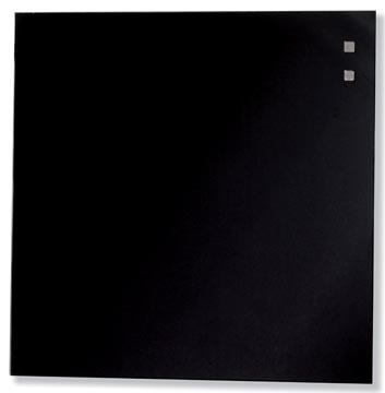Naga tableau en verre magnétique noir