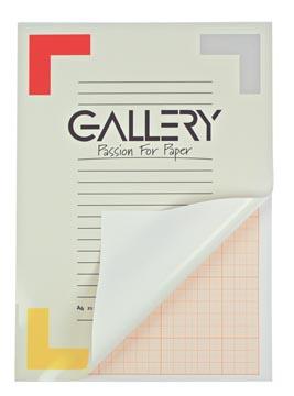 Gallery papier millimétré, ft 21 x 29,7 cm (A4)