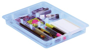 Really Useful Box, diviseur avec 8 compartements, pour 4 l ou 9 l, transparent