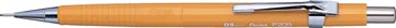 Pentel portemine pour mines de 0,9 mm, corps jaune
