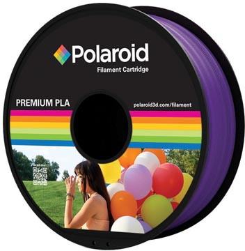 Polaroid 3D Universal Premium PLA filament, 1 kg, pourpre