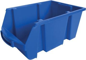 Viso bac de rangement 10 litre, bleu