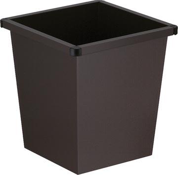 V-Part corbeille à papier, 27 litres, noir