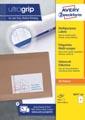 Avery Zweckform 3655-2, étiquettes universelles, Ultragrip, blanc, 200 feuilles, ft 210 x 148 mm