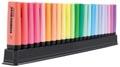 STABILO BOSS ORIGINAL surligneur, deskset de 23 pièces en couleurs assorties