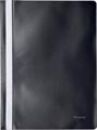 Pergamy farde à devis, ft A4, PP, paquet de 25 pièces, noir